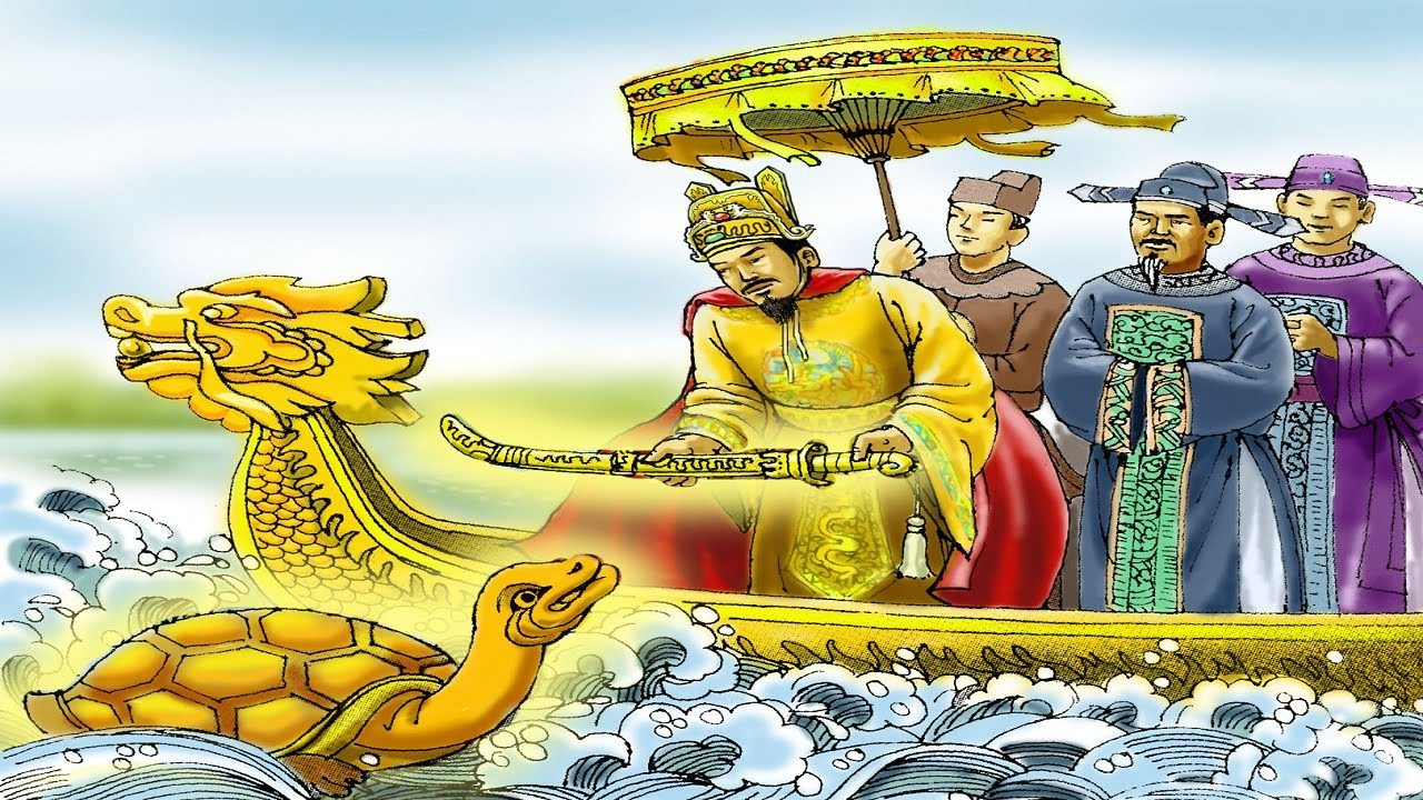 """Phân tích """"Sự tích Hồ Gươm"""" một câu truyện truyền thuyết của Việt Nam"""
