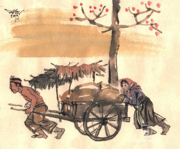Phân tích nhân vật Tràng trong truyện ngắn Vợ nhặt của Kim Lân
