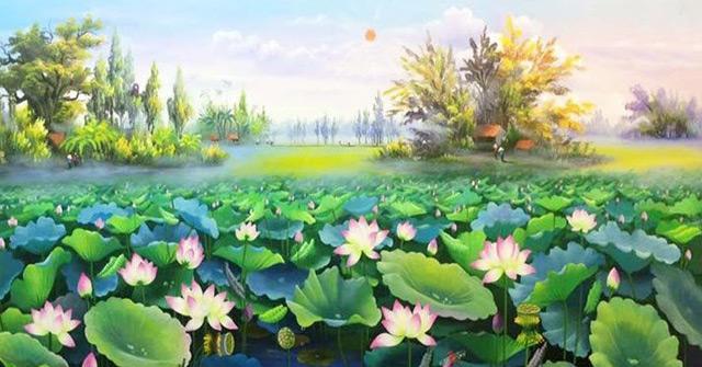 Phân tích bức tranh mùa hè trong bài thơ cảnh ngày hè