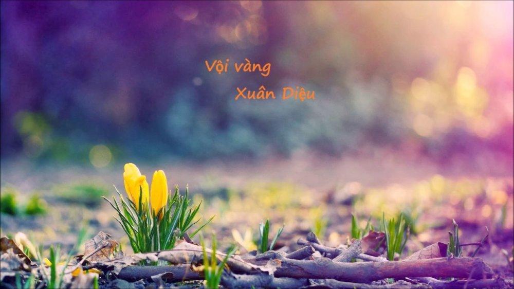Tình yêu đời, yêu cuộc sống của nhà thơ Xuân Diệu qua bài thơ
