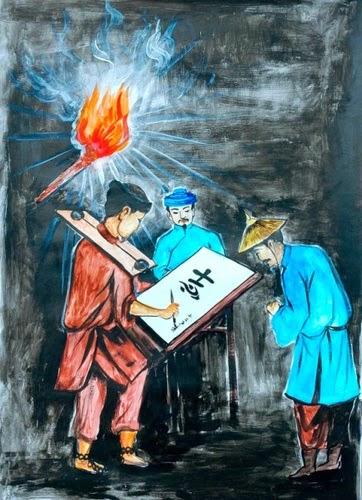 Làm rõ tính tri âm tri kỷ của Huấn Cao và viên quản ngục trong Chữ người tử tù